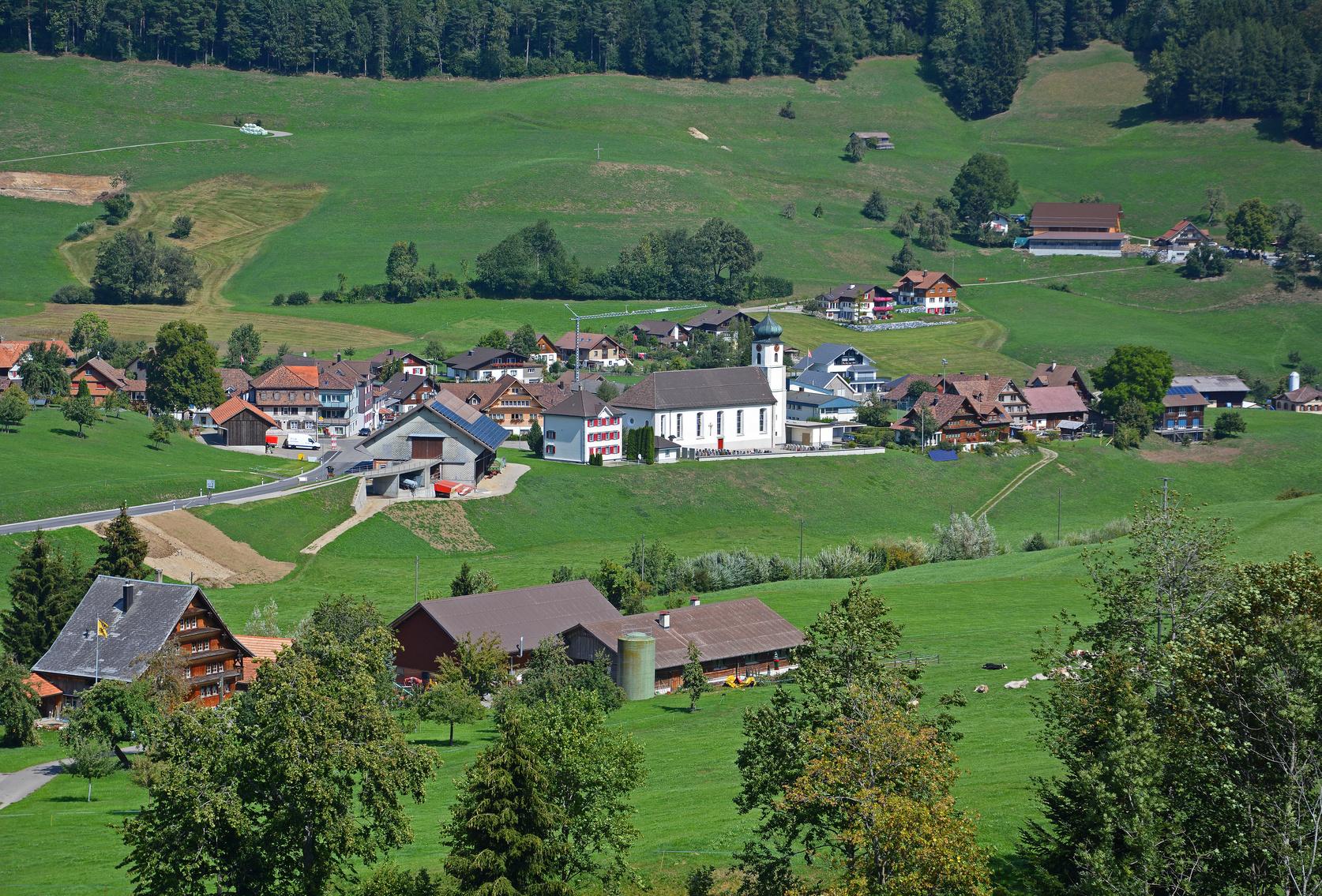 Mühlrüti bei Mosnang, Kanton St. Gallen