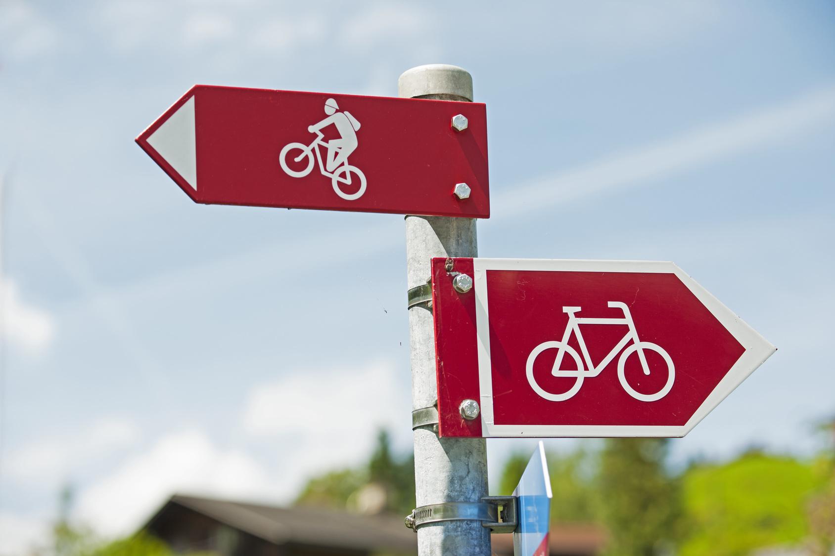 Fahrradwegweiser